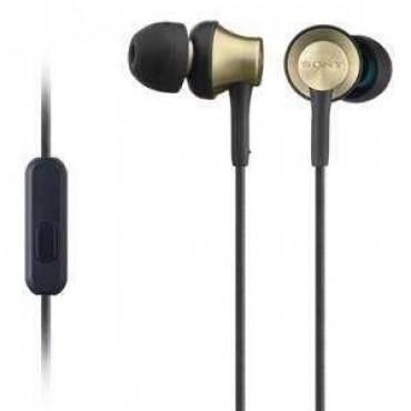 Слушалки Sony Headset MDR-EX650AP brown
