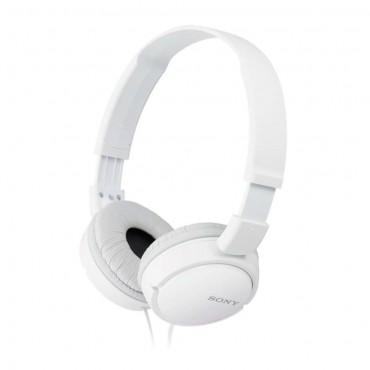 Слушалки Sony Headset MDR-ZX110 white, White
