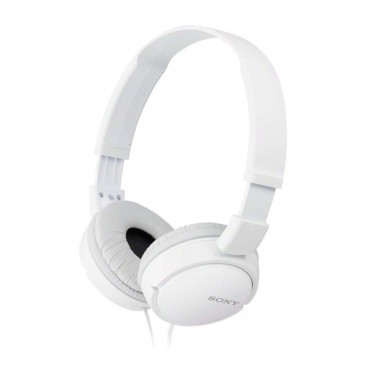 Слушалки Sony Headset MDR-ZX110AP white, White
