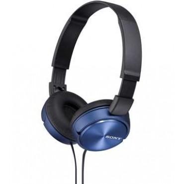 Слушалки Sony Headset MDR-ZX310 blue, Blue