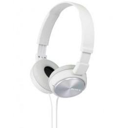 Слушалки Sony Headset MDR-ZX310 white