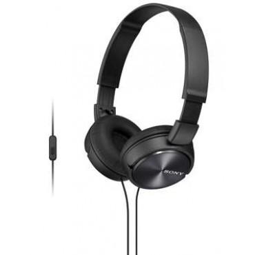 Слушалки Sony Headset MDR-ZX310AP black, Black