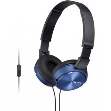 Слушалки Sony Headset MDR-ZX310AP blue
