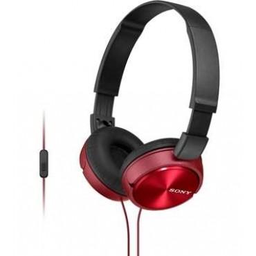 Слушалки Sony Headset MDR-ZX310AP red