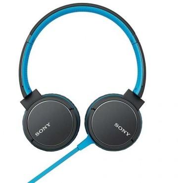 Слушалки Sony Headset MDR-ZX660AP blue