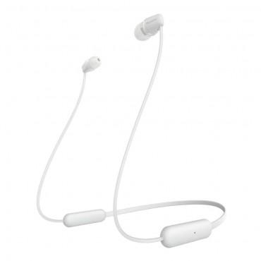 Слушалки Sony Headset WI-C200, White