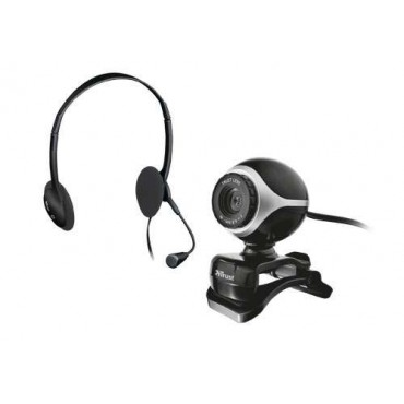 Слушалки TRUST Exist Chatpack (Webcam+Headsets)