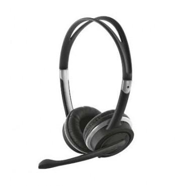 Слушалки TRUST Mauro USB Headset