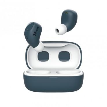 Слушалки TRUST Nika Compact Bluetooth Earphones Blue