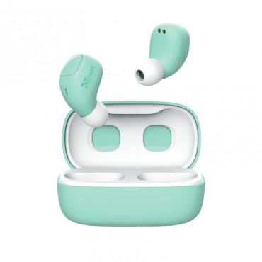 Слушалки TRUST Nika Compact Bluetooth Earphones Mint