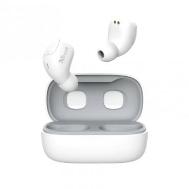 Слушалки TRUST Nika Compact Bluetooth Earphones White