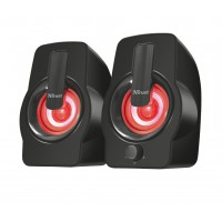 Тонколони TRUST Gemi 2.0 Speaker RGB Black