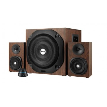 Тонколони TRUST Vigor 2.1 Subwoofer Speaker Set - wood