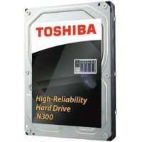 Toshiba N300 NAS - High-Reliability Hard Drive 10TB (256MB)