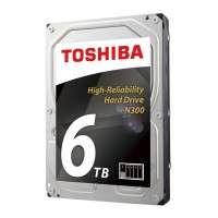 Toshiba N300 NAS - High-Reliability Hard Drive 6TB