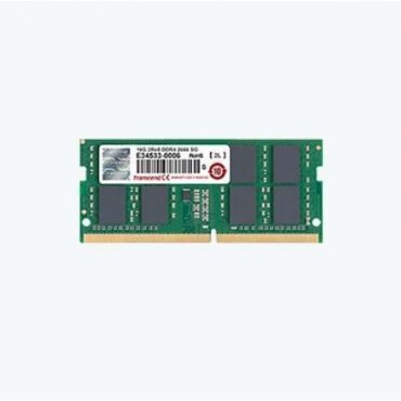 Transcend 16GB 260pin SO-DIMM DDR4 2666 2Rx8 1Gx8 CL19 1.2V