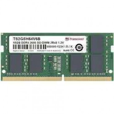 Transcend 16GB DDR4 2666Mhz SO-DIMM 2Rx8 1Gx8 CL19 1.2V