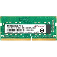 Transcend 16GB JM DDR4 3200Mhz SO-DIMM 1Rx8 2Gx8 CL22 1.2V
