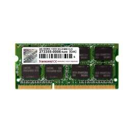 Transcend 4GB 204pin SODIMM DDR3 PC1333 CL9