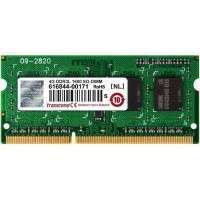 Transcend 4GB 204pin SODIMM DDR3L PC1600 CL11