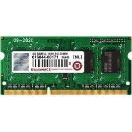Transcend 4GB 204pin SODIMM DDR3L PC1600 CL11