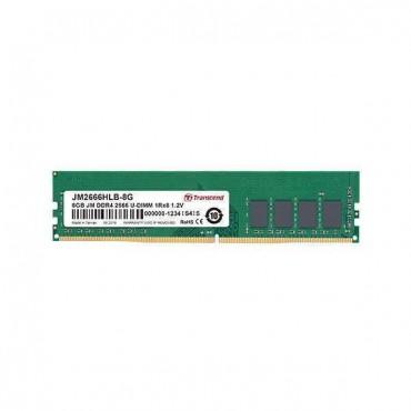 Transcend 4GB DDR4 2666Mhz U-DIMM 1Rx8 512Mx8 CL19 1.2V