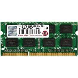 Transcend 4GB JetRam DDR3 SO-DIMM DDR3 PC1600 CL11