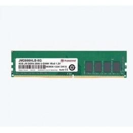 Transcend 8GB 288pin U-DIMM DDR4 2666 1Rx8 1Gx8 CL19 1.2V