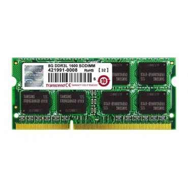 Transcend 8GB DDR3 1600 SO-DIMM 2Rx8