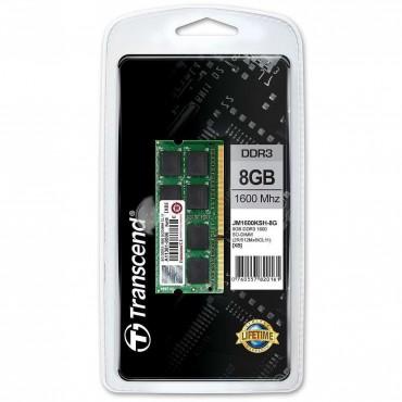 Transcend 8GB JM DDR3 1600 SO-DIMM CL11 2Rx8