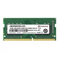 Transcend 8GB JM DDR4 2666Mhz SO-DIMM 1Rx16 1Gx16 CL19 1.2V