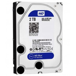 Western Digital Blue 2TB Desktop Hard Disk Drive - 5400 RPM SATA 6Gb/s 64MB Cache 3.5 Inch