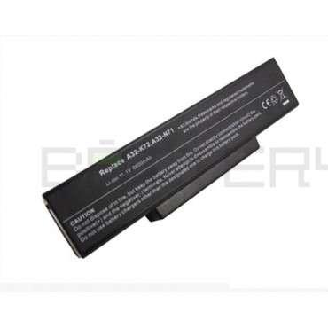 Батерия за лаптоп Asus N Series N71Ja, 6600 mAh