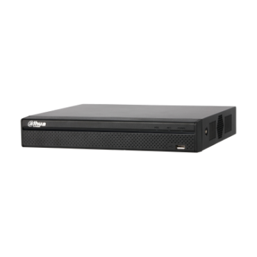 Осем канален мрежови видeoрекордер (NVR) Dahua, 6PX, PTZ, 1080p, NVR2108HS-S2