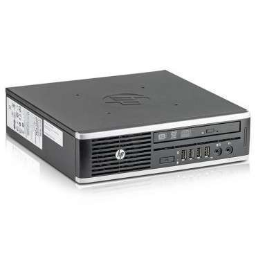 Компютър HP Compaq Elite 8300USDT с процесор Intel Core i5 3470S 2900Mhz 6MB, 4096MB DDR3, 320 GB, Ultra Slim Desktop