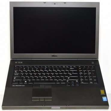 "Лаптоп DELL Precision M6800 с процесор Intel Core i7 4810MQ 2800Mhz 6MB, 17.3"", Full HD,16GB DDR3L, 500 GB SSHD"