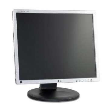 "Монитор LG E1910PM, 19"", 250 cd/m2, 500:1, 1280x1024 SXGA 5:4, Silver/Black, Stereo Speakers"