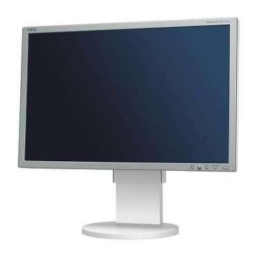 "Монитор NEC EA221WM, 22"", 1680x1050 WSXGA+16:10, 250 cd/m2, 1000:1, Silver/White, Stereo Speakers + USB Hub"