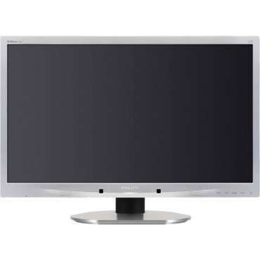 "Монитор Philips 220B4LPCS, 22"", 1680x1050 WSXGA+16:10, 250 cd/m2, 1000:1, Silver/Black, Stereo Speakers + USB Hub"